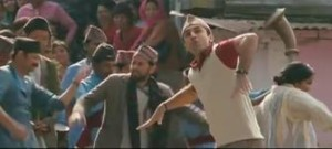 Bollywood actor Ranbir Kapoor donned in Nepali traditional attire dances in his latest movie Barfi. Photo: File Photo