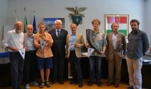 La presentazione di In Viaggio sulle Orobie presso la sede nazionale del Cai a Milano (Photo courtesy of Cai)