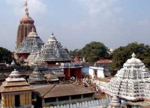 Jagannath Temple in Puri, India. Photo:fullodia.com