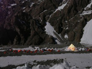 K2 2004 - campo base al K2