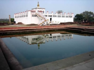 Lumbini, the birthplace of Lord Buddha. Photo: File photo