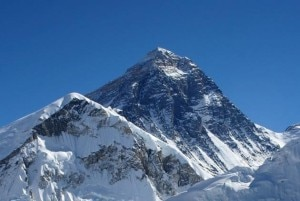 Mt. Everest height, file photo.