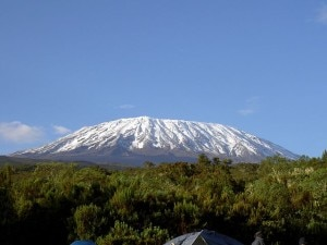 Kilimanjaro (Photo Chris 73 courtesy of commons.wikimedia.org)