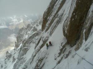 Parete sud del paiju Peak (photo courtesy Basqueteam)