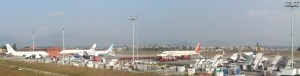 An International terminal of Tribhuvan International Airport in Kathmandu. Photo: tiairport.com.np