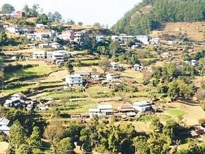 A view of Namje village, file photo