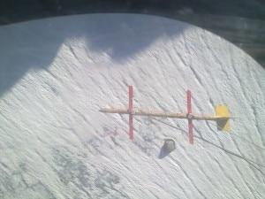 Radar da elicottero sui Forni (Photo S. Urbini)
