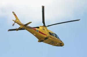 Elicottero del soccorso alpino (Photo courtesy of commons.wikimedia.org)