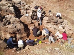 Scavo archeologico (Photo Professor Berger courtesy of Wikimedia Commons)