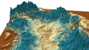 Greenland Canyon (Image courtesy of J. Bamber - University of Bristol)