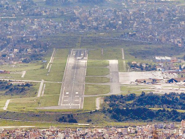 File photo, TIA runway