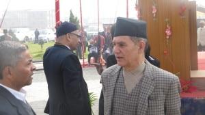 Prof. Surendra Raj Kafle (extreme right), file photo, nepalmountainnews.