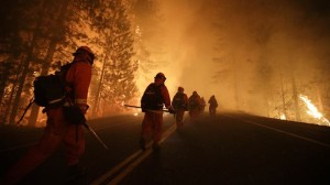 Yosemite wildfire (photo AP courtesy foxnews.com)