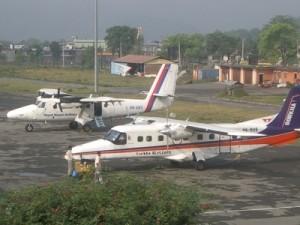Bharatpur airport, file photo.