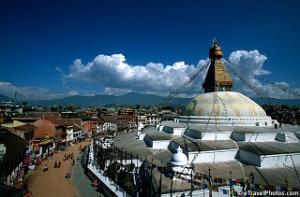 Boudhanath stupa, one of the major tourist attractions in Kathmandu. Photo: File photo