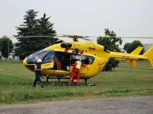 Elisoccorso del 118 (Photo courtesy of www.ilgiornaledellaprotezionecivile.it)