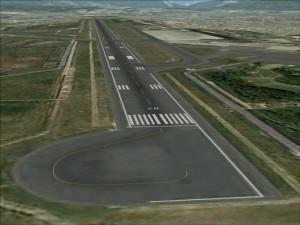 Runway at TIA. Photo: File photo