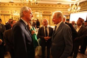 L'Ambasciatore Daniele Mancini e il professor Paolo Cerretelli, al centro Agostino Da Polenza