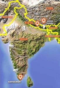 Danilo Callegari Map