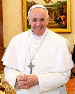 Papa Francesco (Photo Roberto Stuckert Filho courtesy of Agência Brasil/Wikimedia Commons)