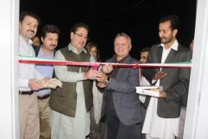 Inaugurazione della sede del Parco del Karakorum - Il Primo Ministro e Agostino Da Polenza