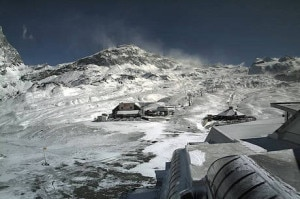 Prima neve in Valle d'Aosta