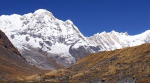 Annapurna range, where Dhawalagiri Icefall Route has been constructed. File photo.