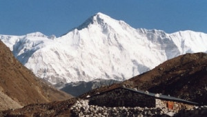 Cho-Oyu peak from Nepal side. Photo: File photo