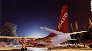 Chinese-made MA60 aircraft. Photo: File photo/agency
