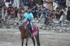 Partita di polo a Khaplu