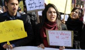 Campaign against rape.