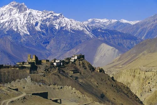 A view of Upper mustang, file photo courtesy goes to www.touchingmountain.com.