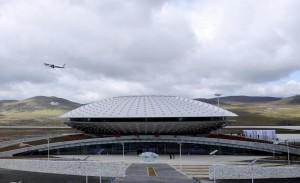 Il Daocheng Yading Airport, l'aeroporto più alto del mondo (Photo courtesy of www.ibtimes.com)