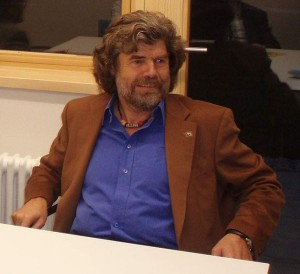 Reinhold Messner (Photo courtesy of Promifotos.de/Wikimedia Commons)