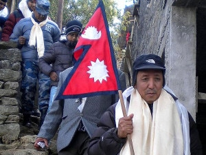 A GHT team led by veteran mountaineer Appa Sherpa, file photo.