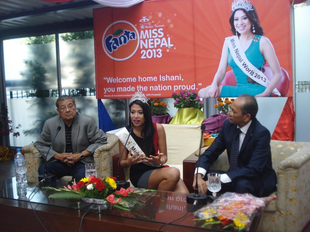 Miss_ Nepal Ishani