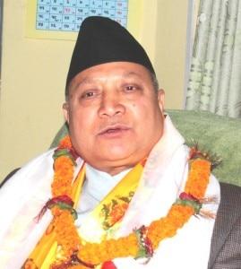 Tourism Minister Ram Kumar Shrestha