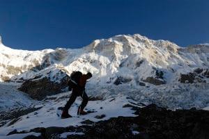 Steck all'Annapurna sud (Photo www.uelisteck.ch)