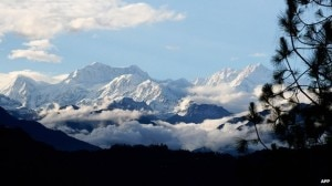 Three of the five proposed peaks are on the world's third highest mountain, the Kanchenjunga massif. Photo: AFP