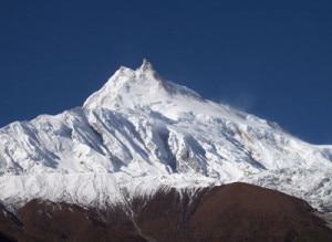 The 8163 m high Mt Manaslu. Photo: File photo