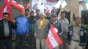 A Nepali Congress candidate for Kathmandu constituency No. 5 Nara Hari Acharya in one of his poll campaigning post in the facebook.