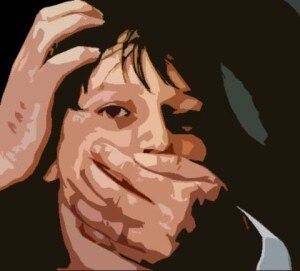 Rape logo, courtesy to freepresskashmir.com.