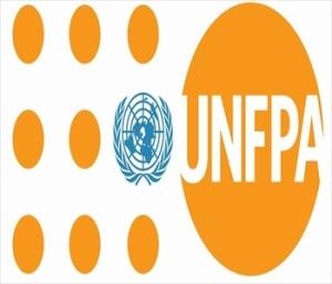 United Nations Population Fund logo.