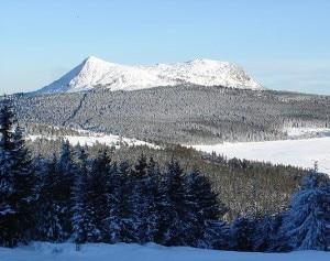 Il monte Mézenc (Photo courtesy of Wikimedia Commons)