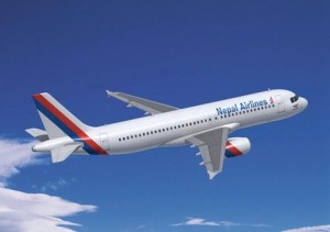 Aircraft of Nepal Airlines Corporation. Photo: File photo