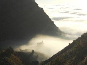 Alba al Pian del Re Valle Po (Massimo)