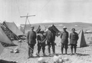 DeFilippi La spedizione sull'altopiano del Dèpsang, 1914  Photo Società di Studi Geografici