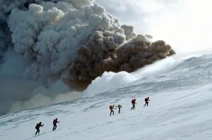 L'Etna in eruzione (Photo Paola Dandrea)
