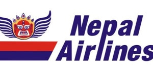 Logo of Nepal Airlines Corporation. file: NMN