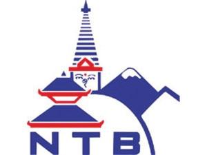 Logo of Nepal Tourism Board (NTB), file photo.